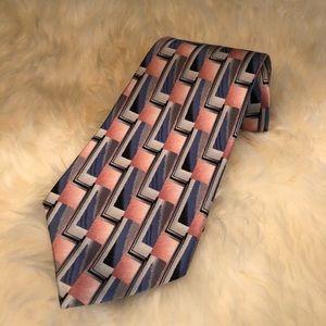1980s 💕 Vintage Retro Pierre Cardin Silk Necktie
